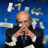 Voorstelling FIFA Blatter in de Slinger