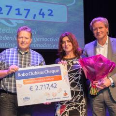 V.V. Schalkwijk pakt eerste prijs met de Rabo Clubkas actie!
