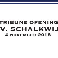 Opening tribune